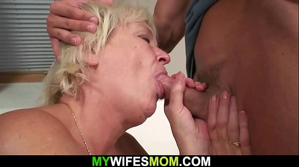 Old mom, Blonde mom, Sex taboo