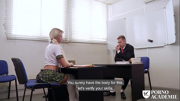 Footjob, School girl, Lara