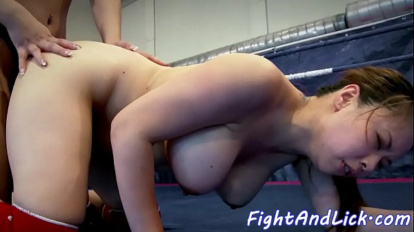 Wrestling, Asian babe