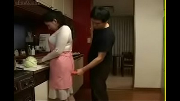 Japanese mom, Hot mom, Kitchen, Asian mom, Japanese son, Mom japanese