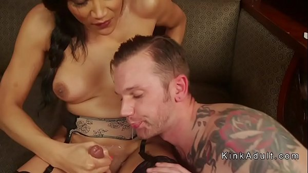 Slave, Shemale guy, Shemale anal, Slave anal