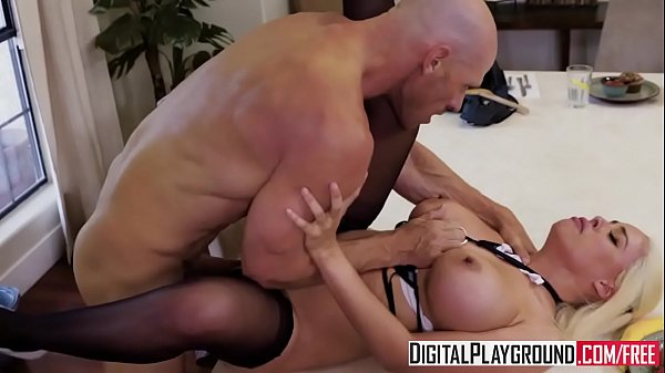 Maid, Service, Johnny sins, Maid service, Luna star