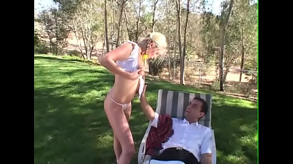 Small anal, Small tits, Blonde anal, Outdoor anal