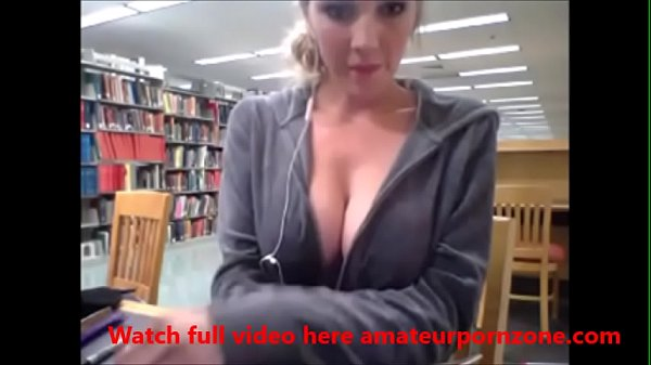 Library, Webcam masturbation