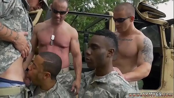 Story, Army, Sucking cock