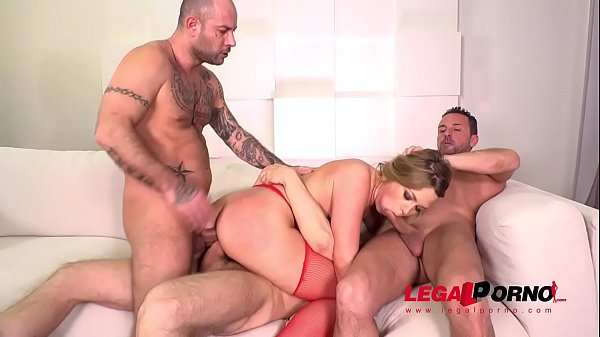 Deepthroat, Double anal, Blonde, Big booty, Anal booty, Blonde anal