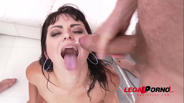 Double anal, Double, Huge cock anal